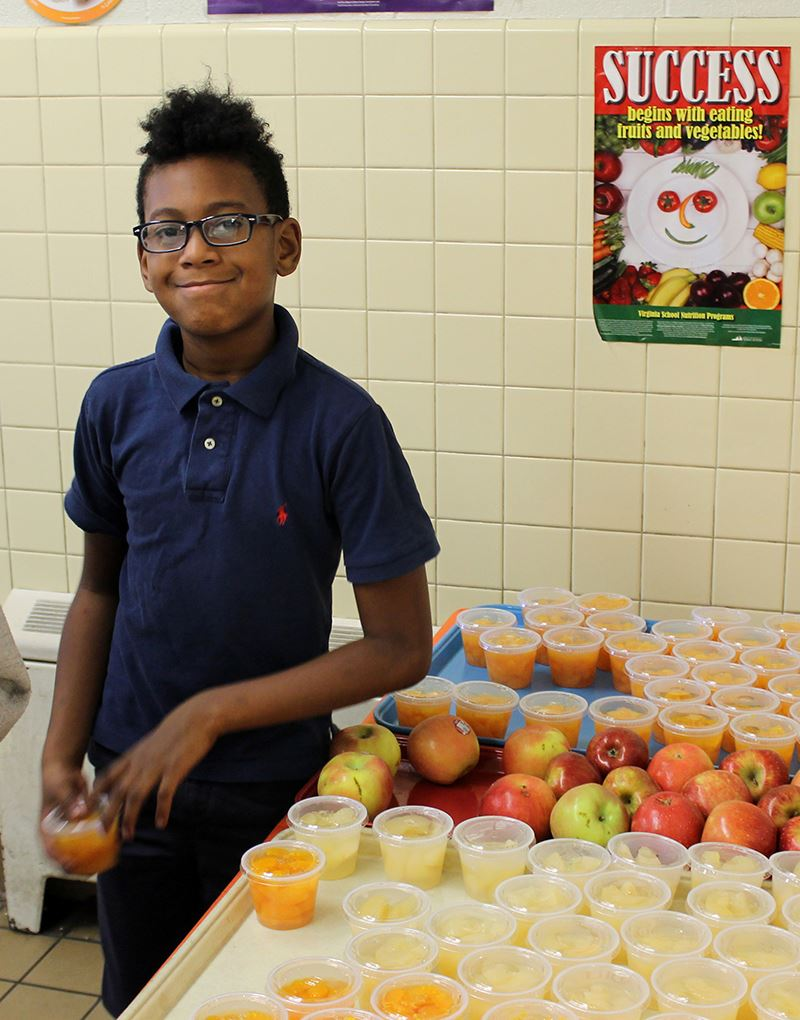 Schools offer healthy choices